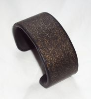 gold fleck cuff by ACrowsCollection