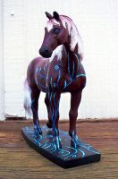Horse Model Front View by Christa-S-Nelson