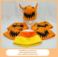 Halloween Town and Candy Corn Hats by cutekick
