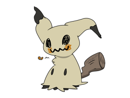 Mimikkyu ain't playing with chu by Gr8gecko