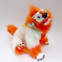 Foo Puppy! Ooak Art Doll by Echinoderma