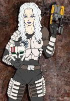 Dead Space Mikaela by razielapprentice