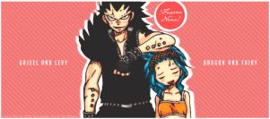Gajeel and Levy - Funny Moment - Color by Erian-7