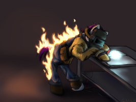 Pony Welder Commission by AmyAnnie14