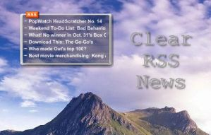 Clear RSS News Reader by rodfdez