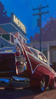 Caddy motel by Ilmarinenn