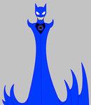 Blue Lantern Batman by 115spartan