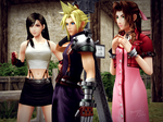 Tifa ~ Cloud ~ Aerith by Dragunova-Cosplay