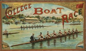 College Boat Race by peterpulp