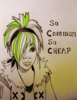 Korey from so common so cheap by ArtisticEnvy