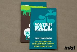 Graphic Water Company by inkddesign