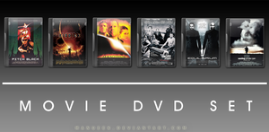 Movie DVD Icons 10 by manueek