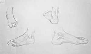 Foot study by Auri3