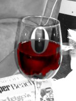 Red wine by Deepre