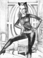 Julie Newmar - Cat Woman by nezumish