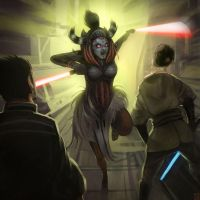 Female Sith Lord by Hideyoshi
