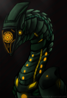 nameless character by DecepticonCyberWolf
