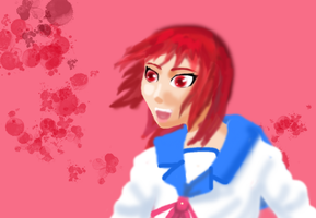 Iwasawa speed-paint by BloodKaika