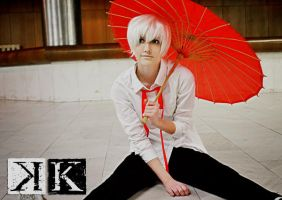 Project K : Shiro - Wondering ~ by ElizabethMiraclis
