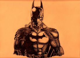 Halloween contest Arkham Origins Batman by BoyWonder024