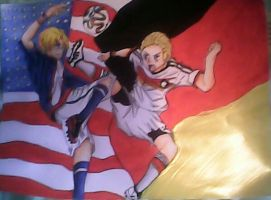 aph brazil 2014 world cup USA vs germany by moritakasoulhyuga