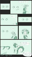 His wall blinks by Foshu