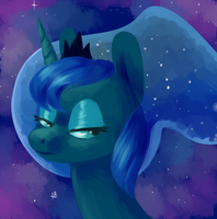 Princess Luna by comikazia