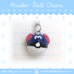 [New!] Master Ball Charm by ShinyCation