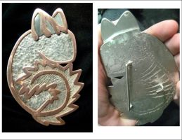 Chinchilla Belt Buckle by chinchilakid