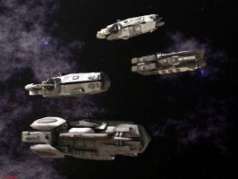 Stellar Navy Ships of the Line by ILJackson