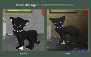draw it again scourge by chocobeery
