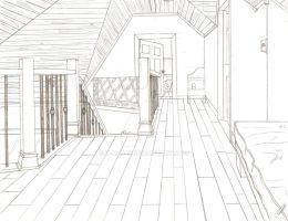 Portfolio Drawing 3: Perspective Drawing by T-M-N-T
