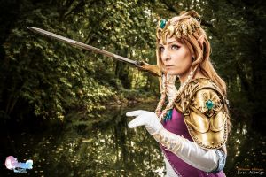 Zelda - an iron lady by CalipsoCosplay