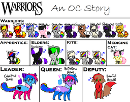 CourageClan My Clan Reference. by Galaxy-Gold