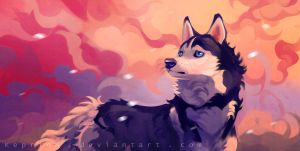 Willow Sun1 by Keprion