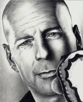 Bruce Willis - scan 5 by Doctor-Pencil