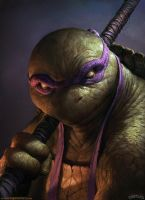 Donatello by DavidRapozaArt