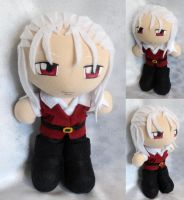 Commission, Plushie Robin by ThePlushieLady