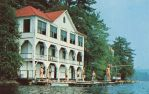 Vintage New England - Lake House by Yesterdays-Paper