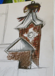 Clock tower by LadyKylin