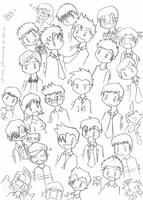 Another Bunch of Chibis by dongpeiyen1000
