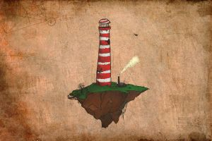 The Sky Lighthouse by Van-Oost