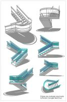3D Stair by ThieresCAD