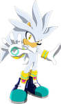 Silver The hedgehog - Sonic X by Noble-Maiden