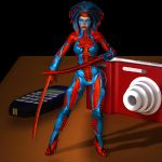 Battle Doll Banshee by Roguewing