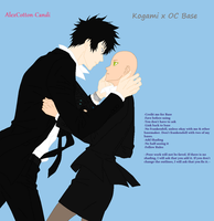 Kogami x OC Base by AlexCotton-Candi