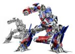 Transformers OPTIMUS by raulrk