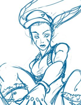 Quick Cammy doodle by Nexxorcist