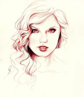 Taylor in Red by Define-X