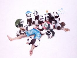Pandas. Pandas Everywhere. by ShamelessMagic